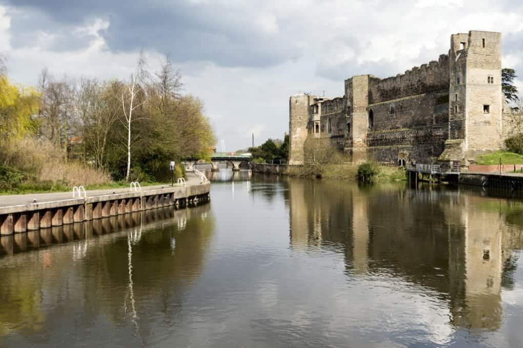 England Rivers: river trent photo
