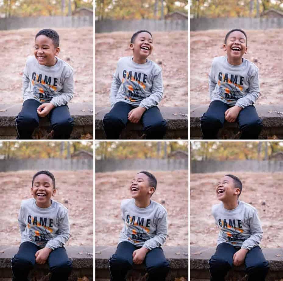 cj-birthday-laughing-collage
