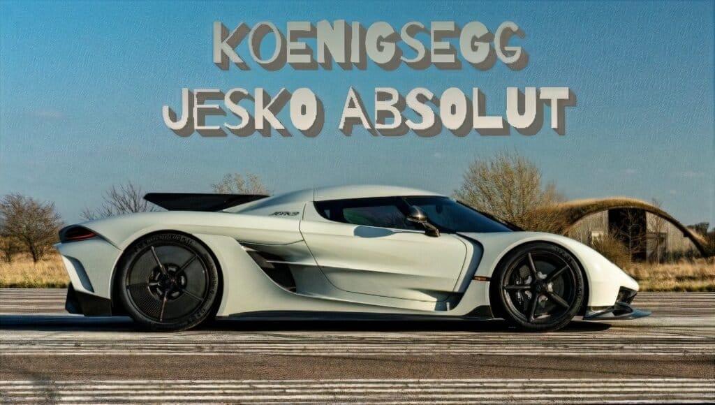 Koenigsegg Jesko Absolut