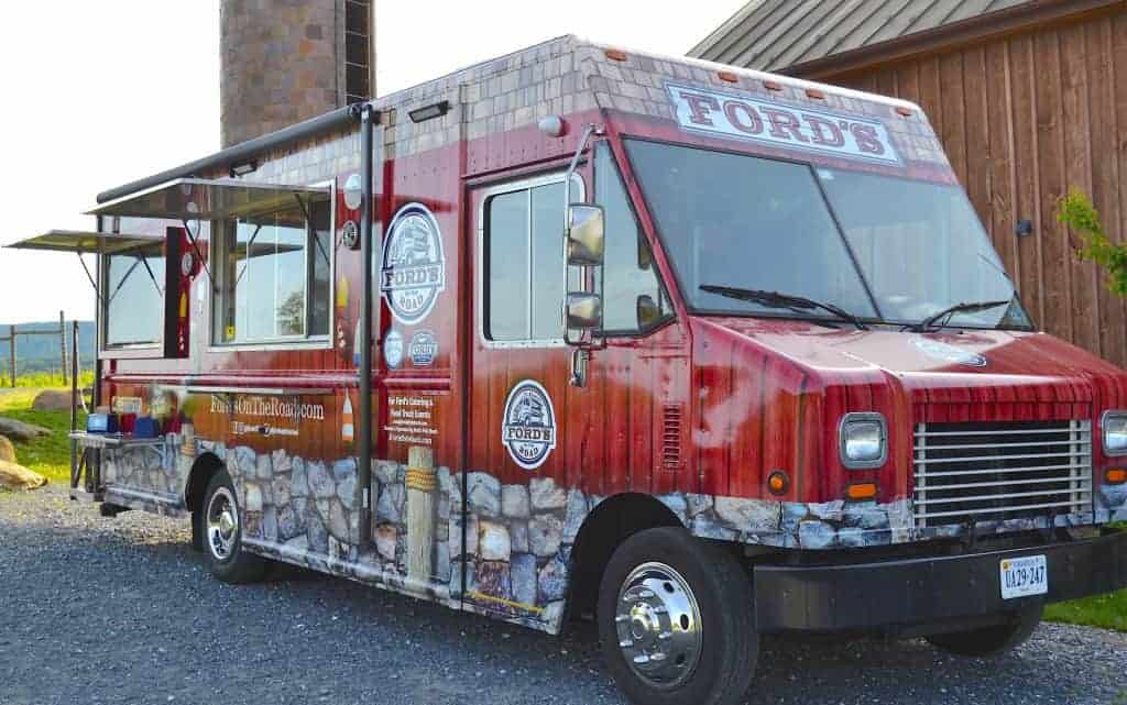Ford's Fish Shack Food Truck