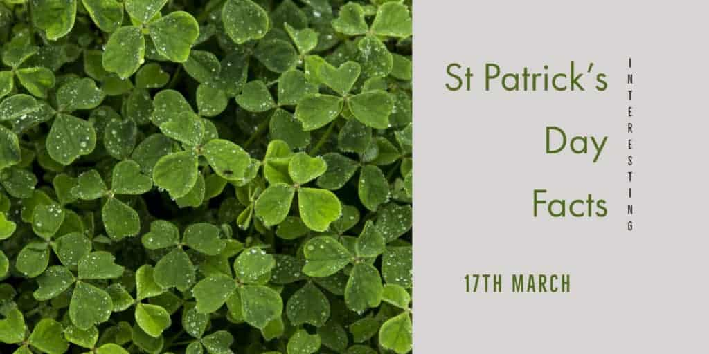 The 17 Most Interesting St Patrick's Day Facts - 17th March 2019