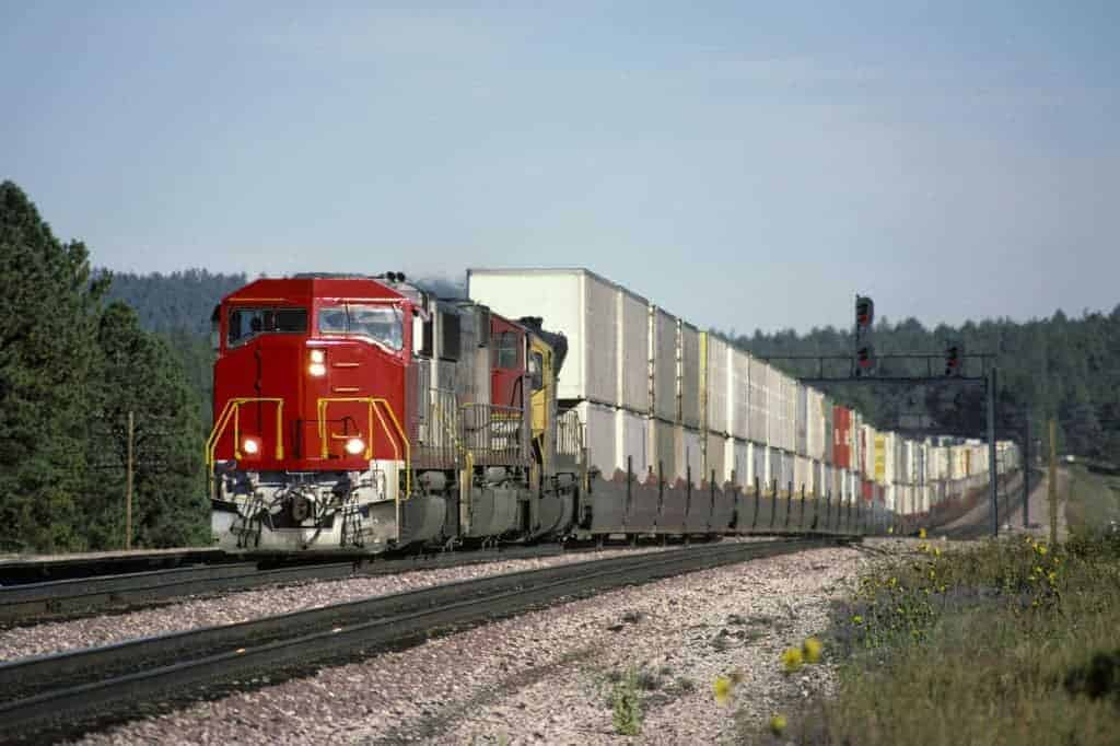 Railroad Freight Train
