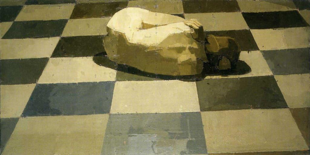 Euan Uglow, Double Square Double Square, 1980-1983