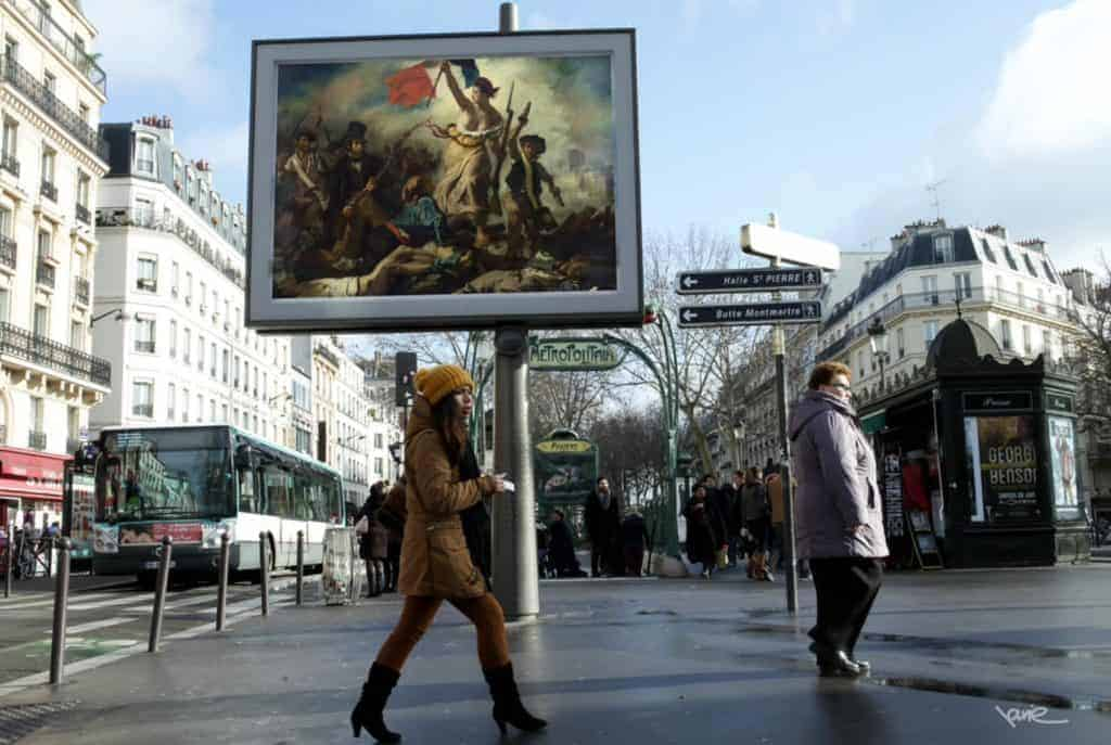 OMG! who stole my ads? - Liberty Guiding the People by Delacroix