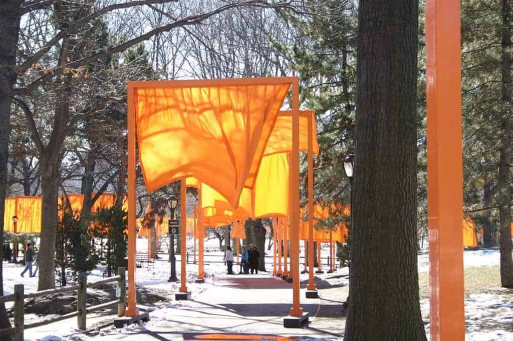 Christo and Jeanne-Claude, The Gates, New York, 2005.