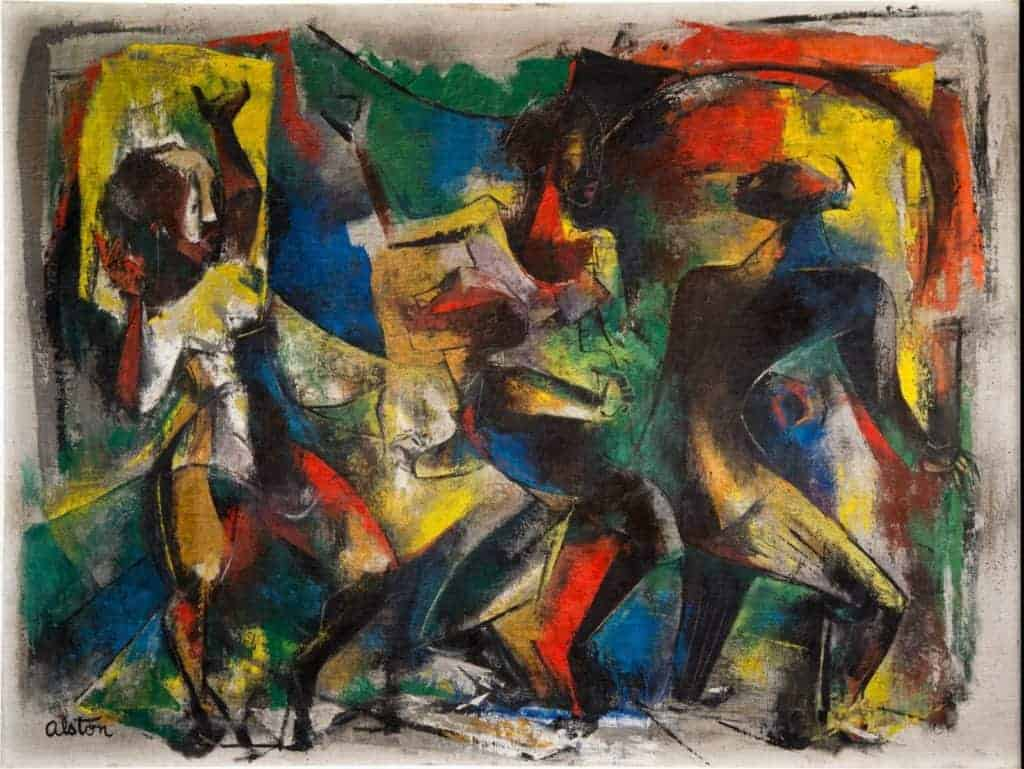 Dancers (1949) by Charles Henry Alston
