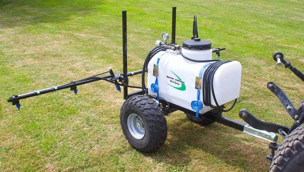 compact trailed sprayers