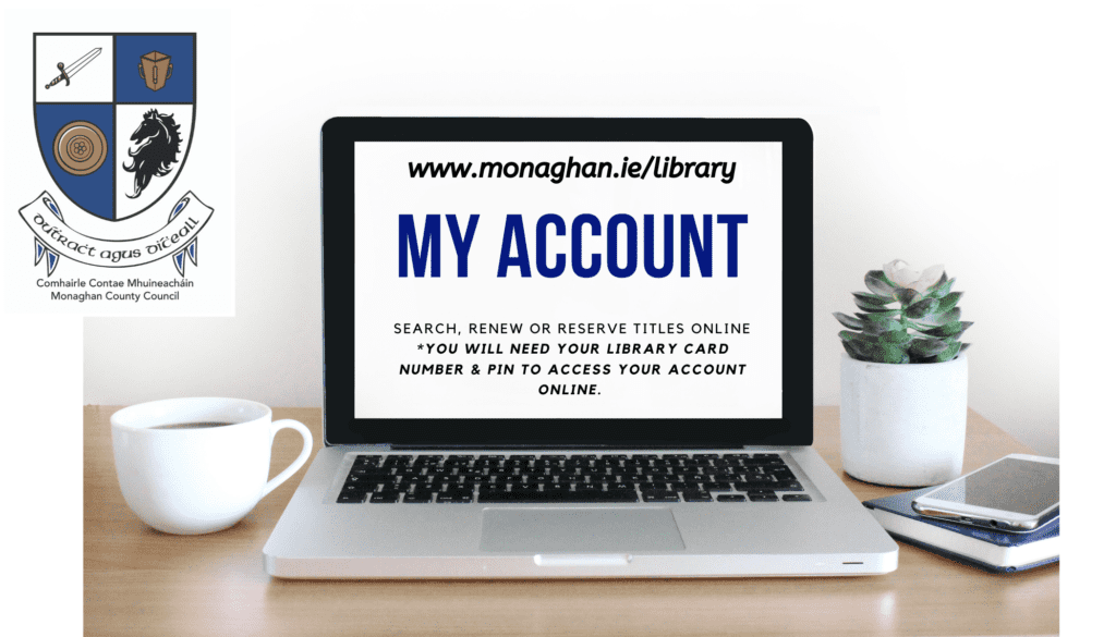 Access your library account online