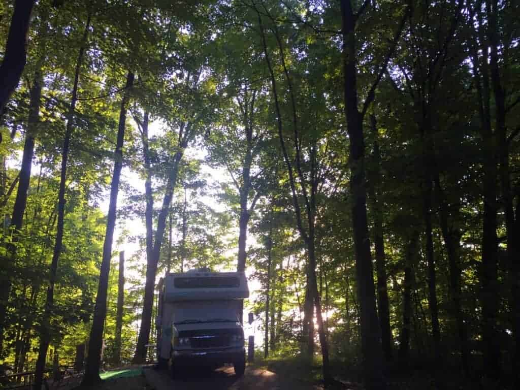 West Branch State Park Campground Site