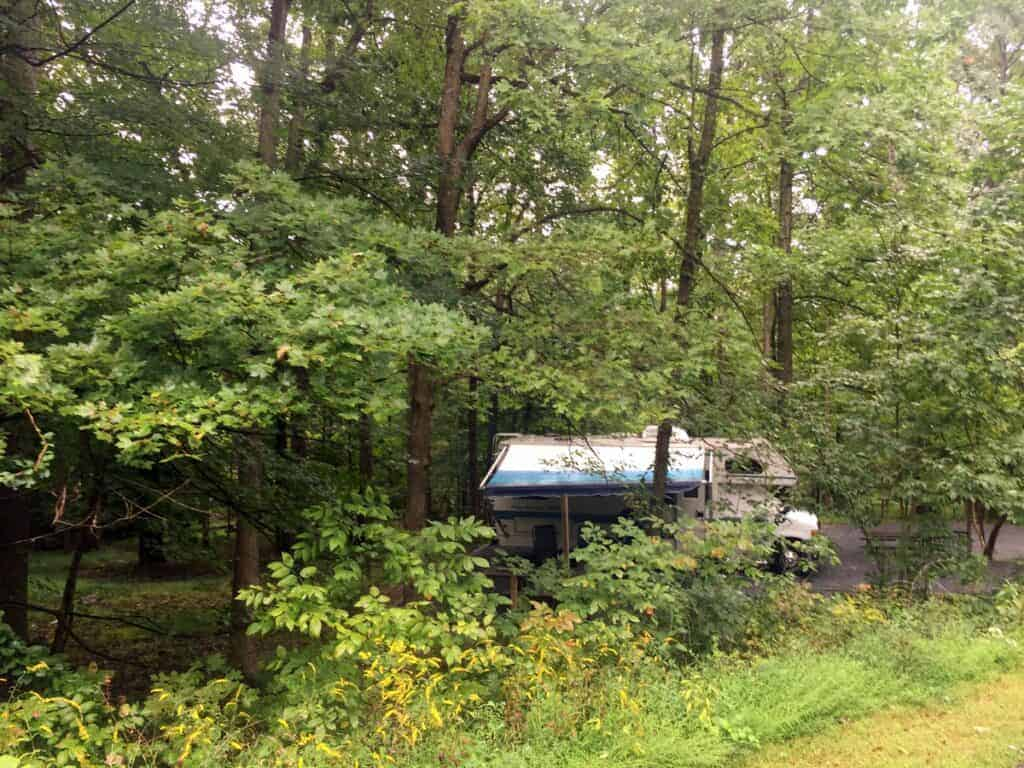 cunningham falls state park campground