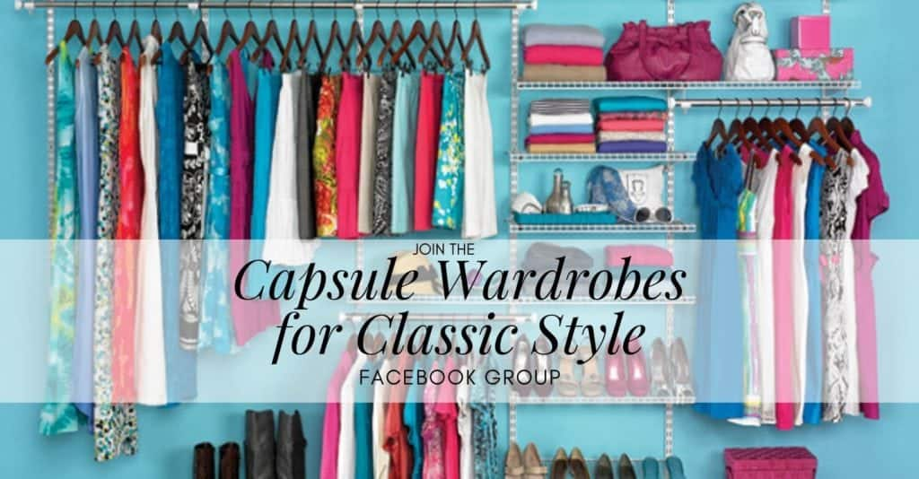 Join the Capsule Wardrobes for Classic Style Facebook Group
