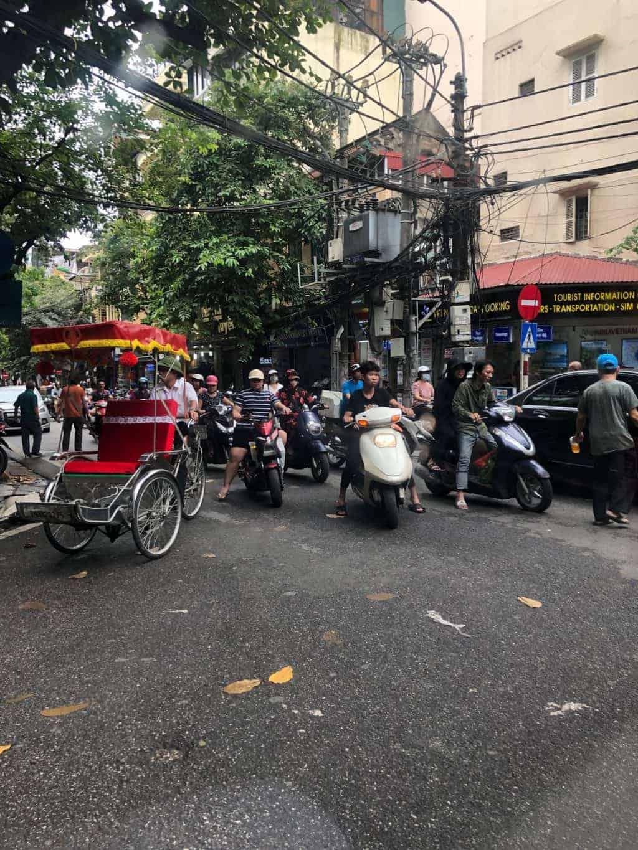 Trafikk i Hanoi
