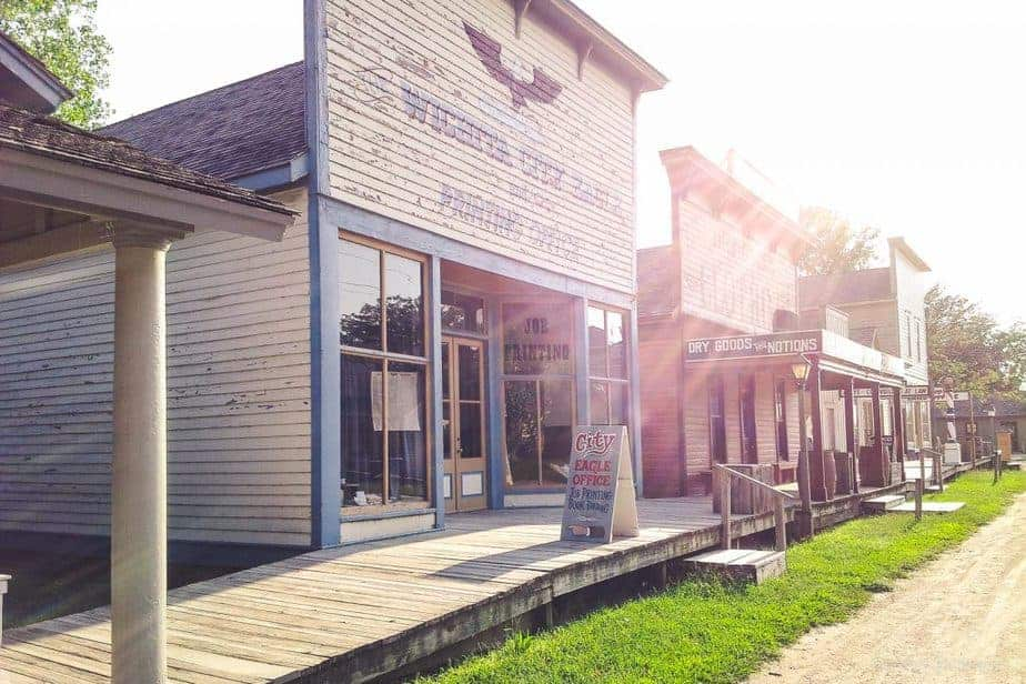 Old Cowtown Museum in Wichita