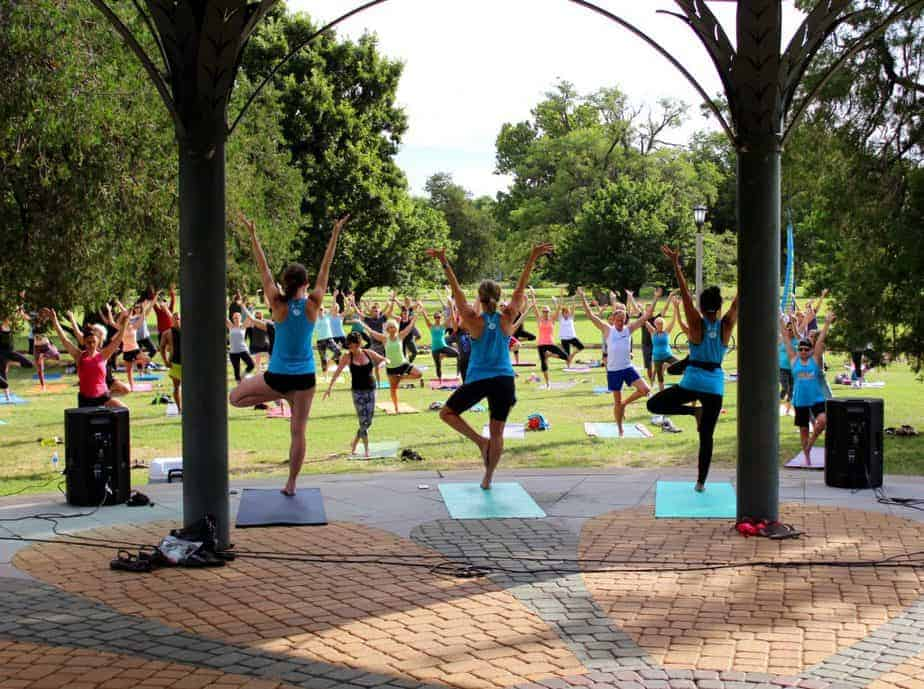 Get Fit Wichita FREE Yoga in the Park class