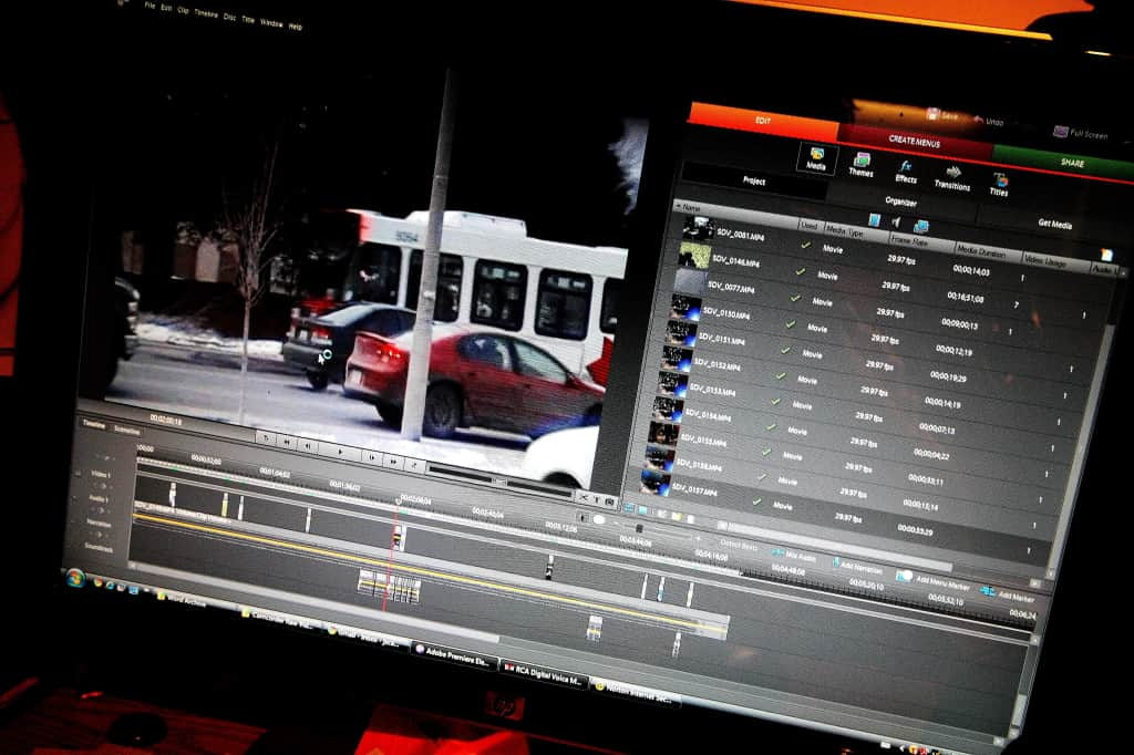 audio from video editing