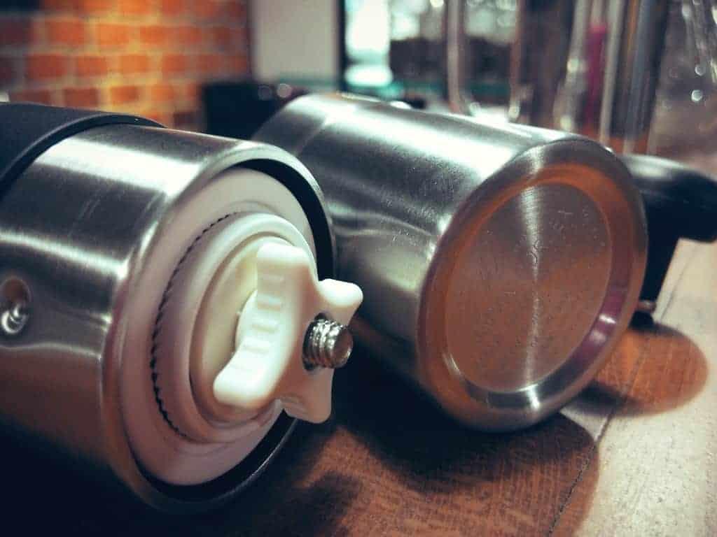 Porlex Mini coffee grinder