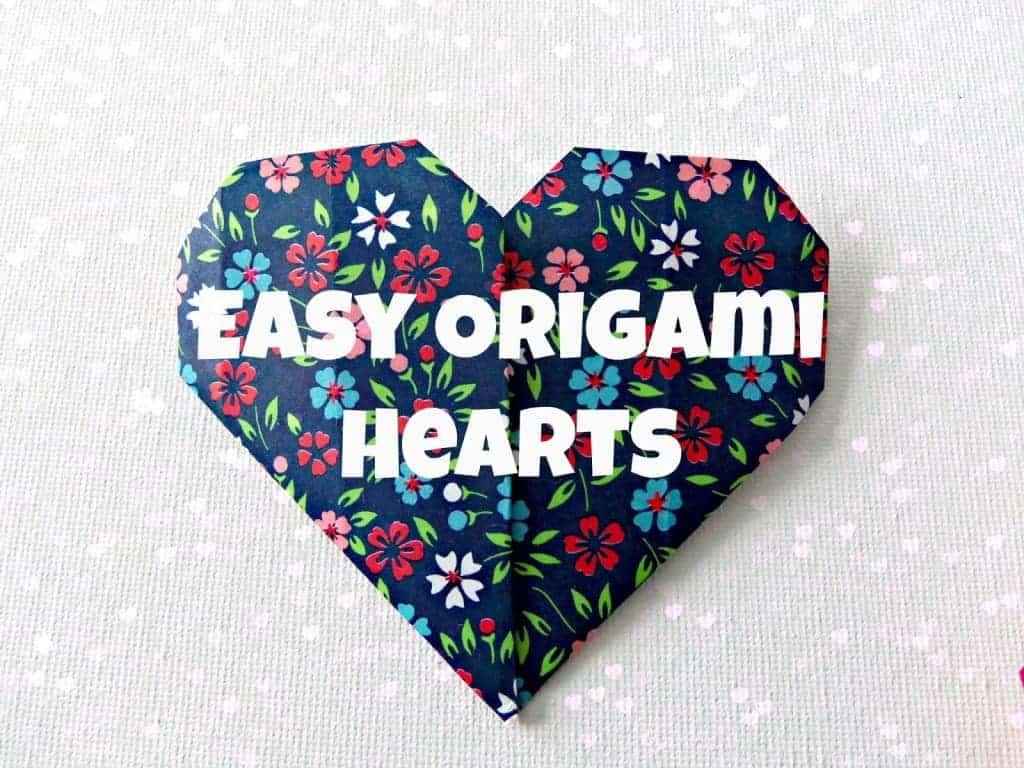 easy origami hearts