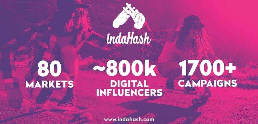 indahash website screenshot