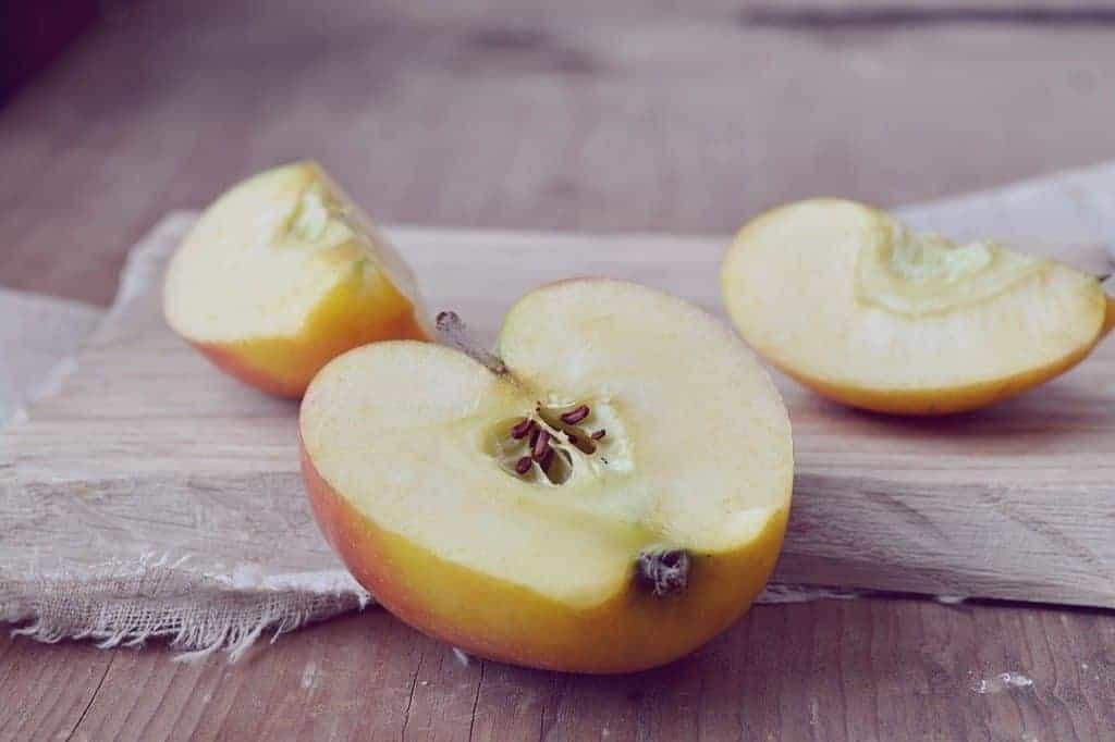 Geschnittenes Obst lagern