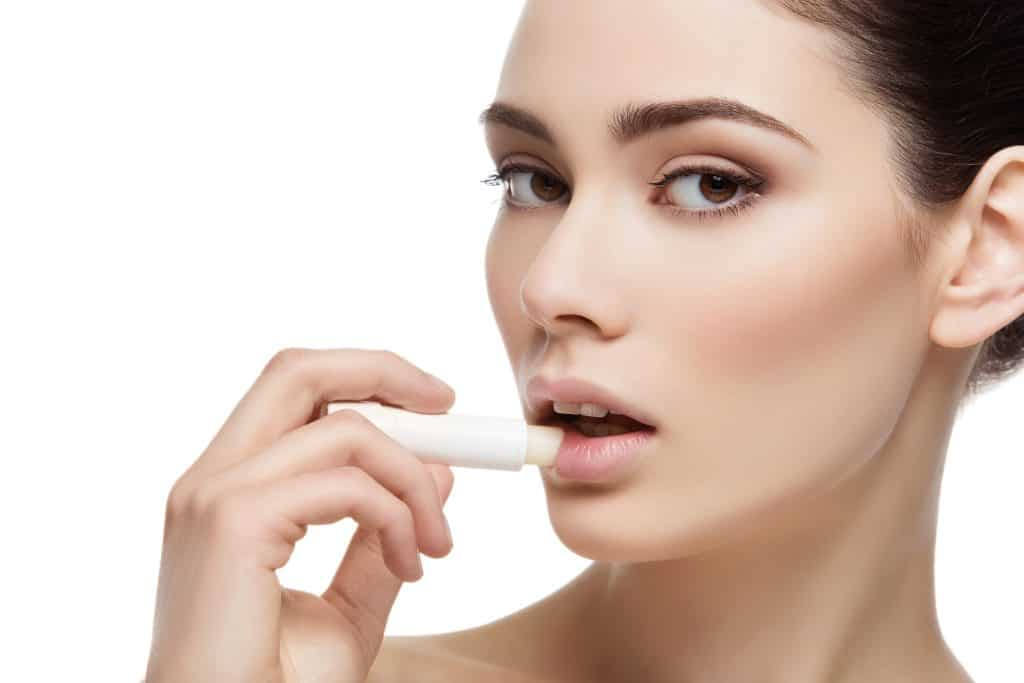 Important step in lip care