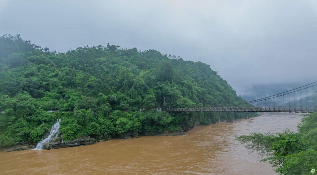 Flooded Dawki River At Tamabil