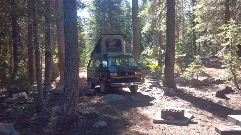 Rocky Knoll Campground near Lake Almanor camping.  Image credit: Google Maps via  jason dionne