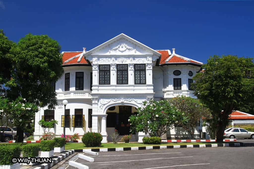 Phra Aram Sakhonkhet Mansion - Thai Airways office in Phuket town