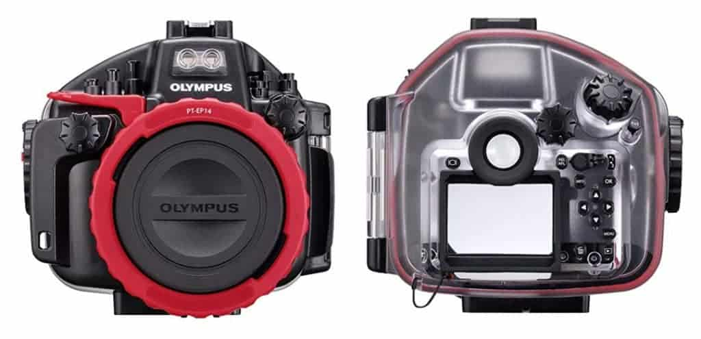 Olympus PT-EP14 Underwater Housing for EM1 Mark II