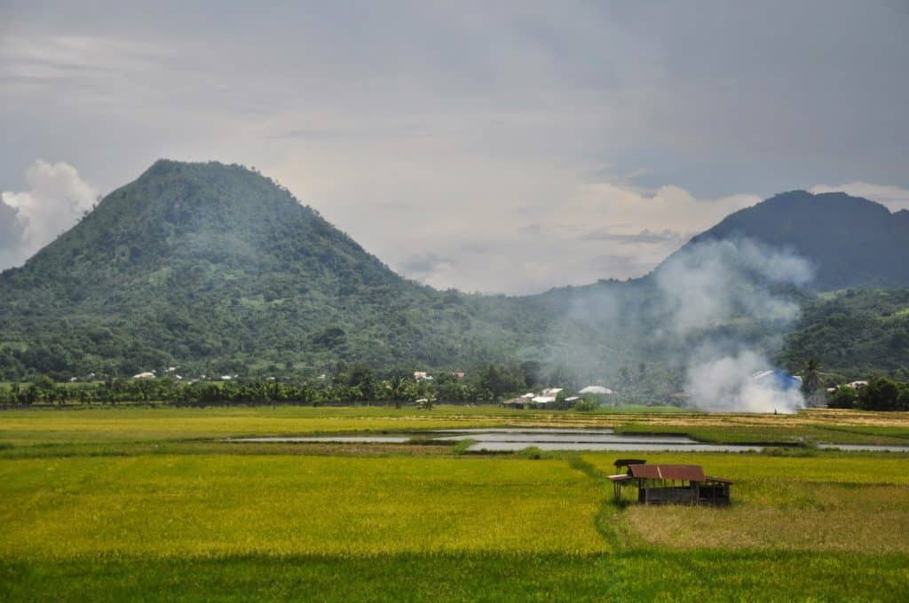 Landscape of the Philippines, where travelers can discover the tourist spots in Luzon