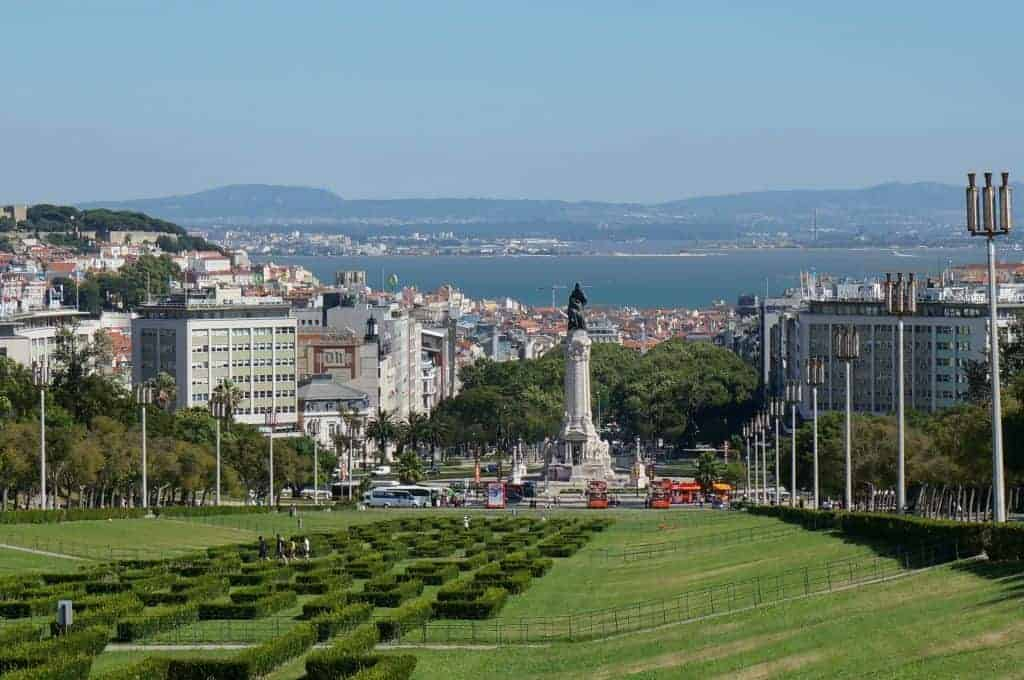 Eduardo Park Lisbon Portugal