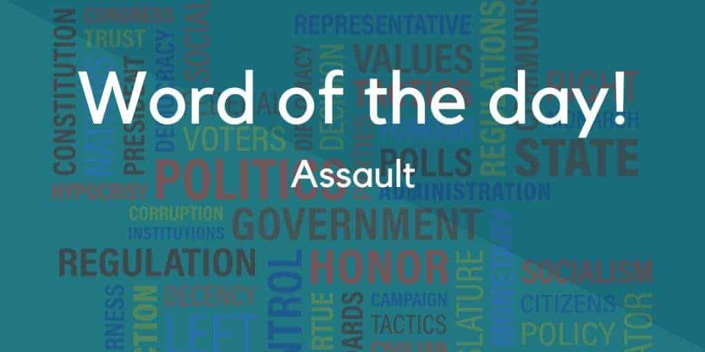 Assault Meaning in Hindi