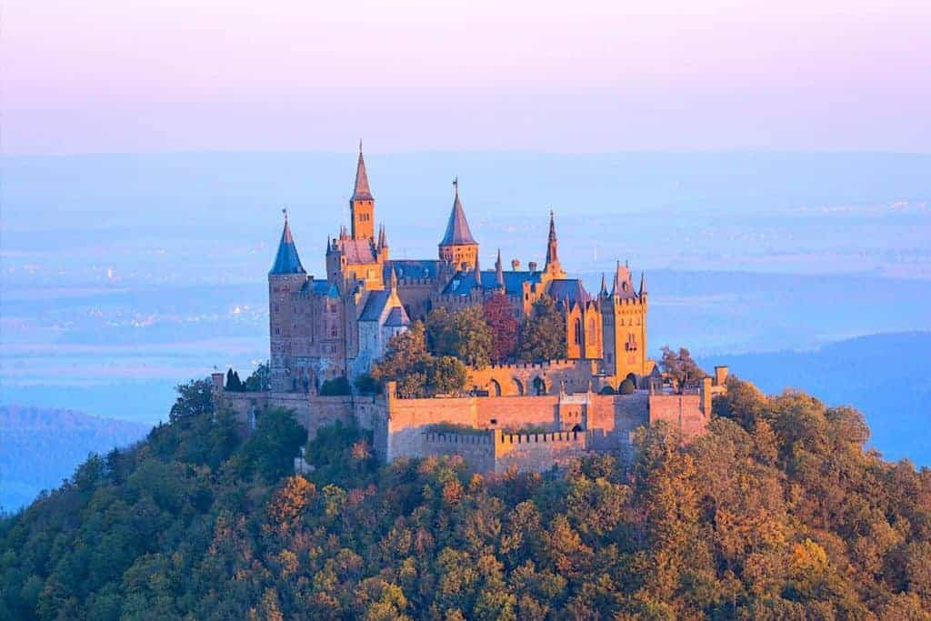 Hohenzollern Castle is one of the most beautiful castles in Germany. And that's saying something. Here's how to make the most out of your visit to Hohenzollern Castle. #Germany #castle #hohenzollern #roadtrip #blackforest #europe #castles #hohenzollerncastle #fairytale #wanderingbirdadventures Wandering Bird Adventures