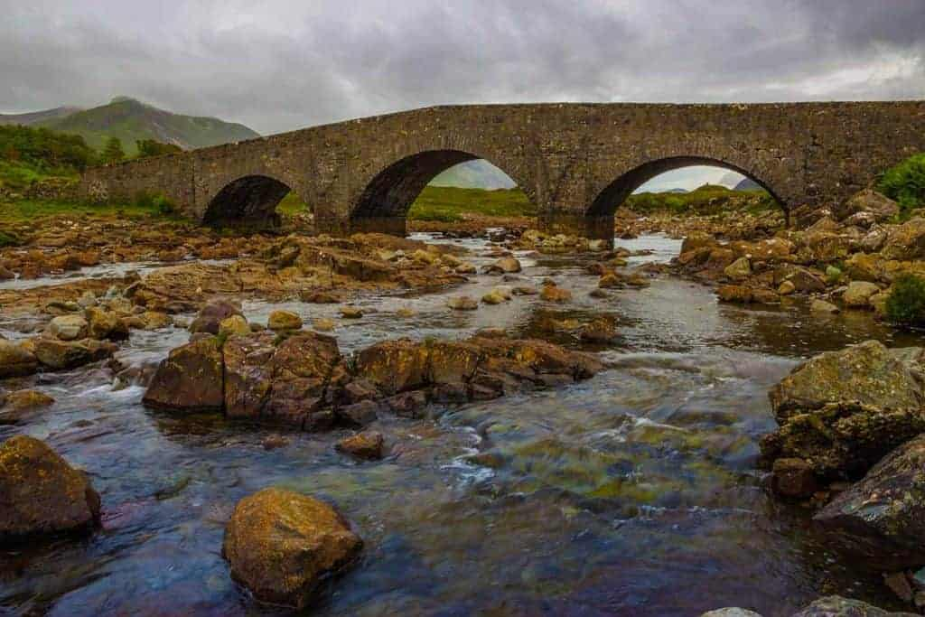Sligachan Bridge on the Isle of Skye