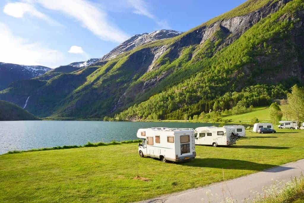 Buying a motorhome or Campervan UK tips, questions and advice. Buy a motorhome or Campervan in UK - but then you can head to Norway to places like this!!