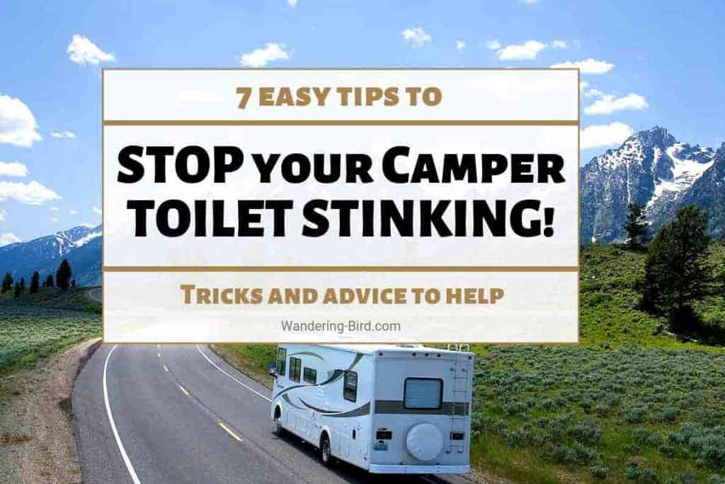 Stop camper and RV toilet smells!
