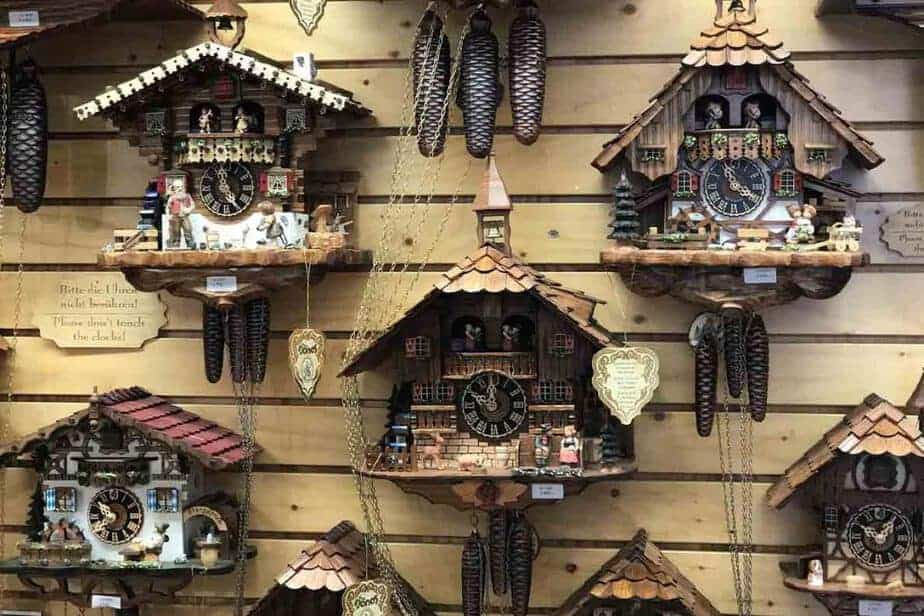 Triberg Cuckoo clocks- Wondering what to do in Triberg? This is the most popular thing to do!