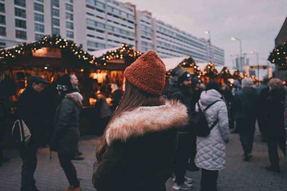 Christmas Market Europe Tips- warm coats and comfy shoes! Not a heel in sight!