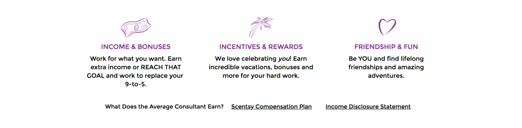 the benefits of joining scentsy