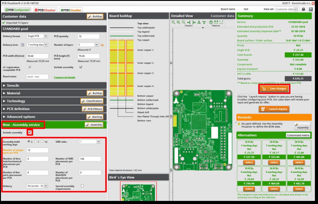 New - Assembly service - web