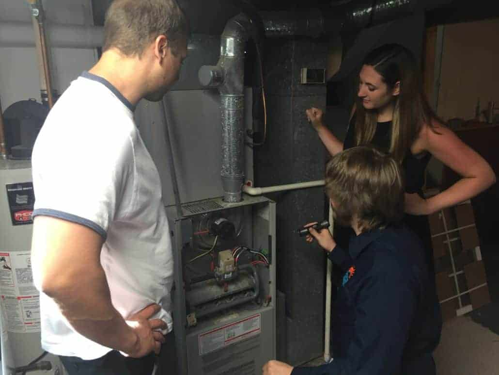 HVAC Inspection - Furnace - BHI