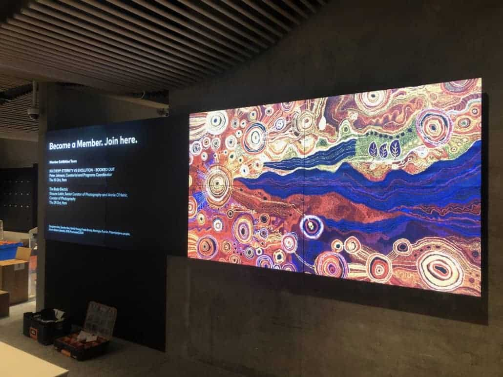Video walls are a great way to display content with real impact