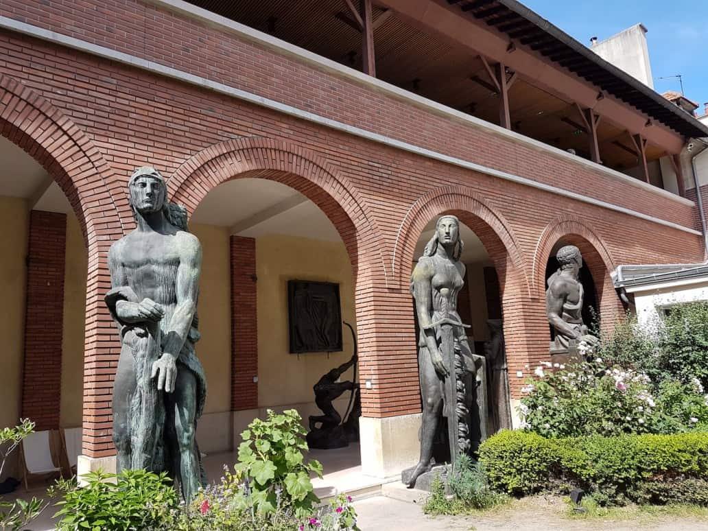 Museé Bourdelle garden