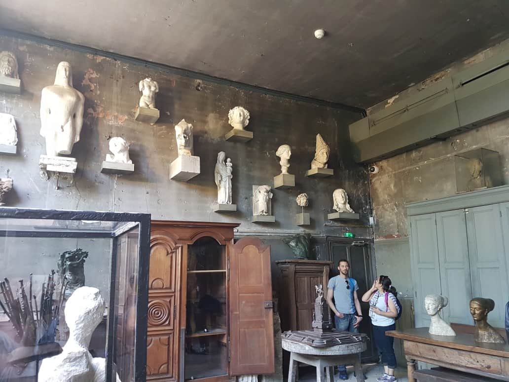 Museum Bourdelle basement