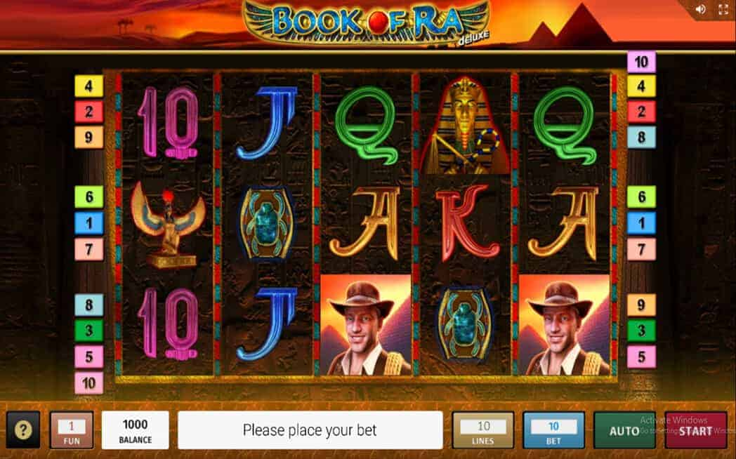 Book Of Ra Deluxe Game XOSlot