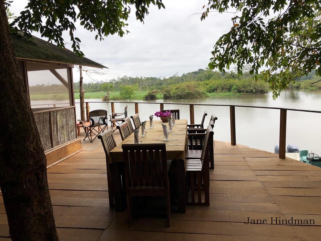 Akaka Camp Dining Deck