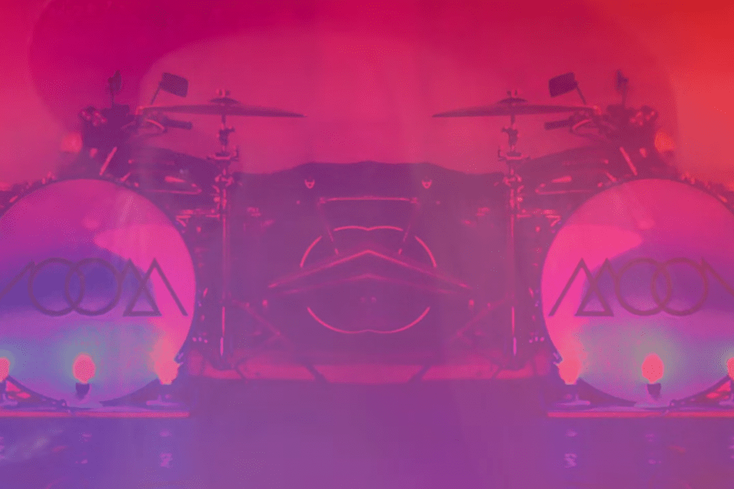 """Screenshot from MOON's """"I've Got A Fever"""" lyric video"""