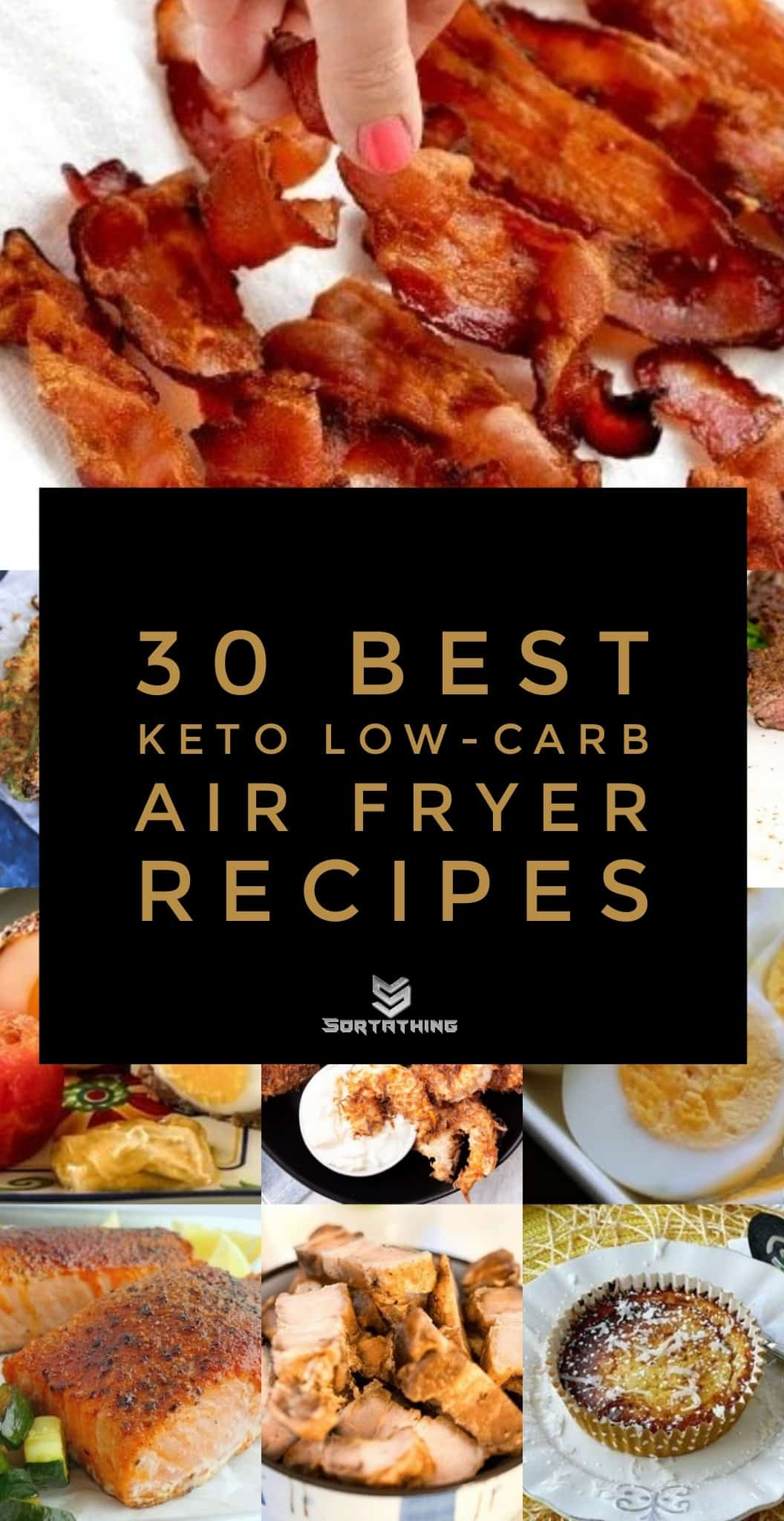 30 Best Keto Low-Carb Air Fryer Recipes 2020