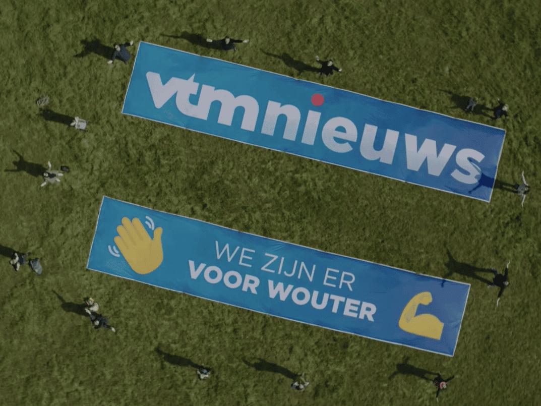 XL Reklame - vlaggen VTM Nieuws
