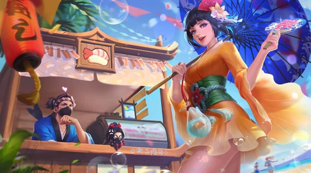 Kagura and Hayabusa Summer