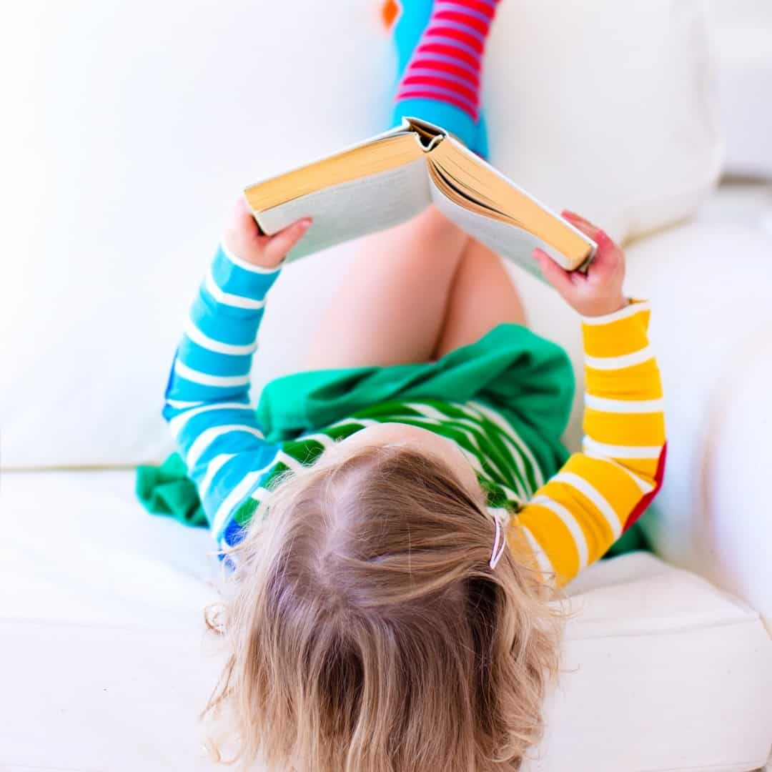 Encourage your child to love reading